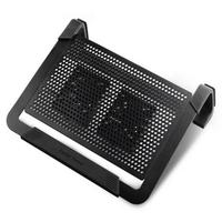 "CoolerMaster R9-NBC-U2PK-GP PLUS, NotePal U2 Plus Black Portable pad up to 17"""