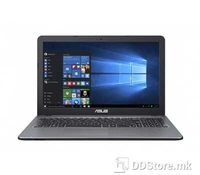 ASUS X540LA-XX332D (SILVER, BAG), Intel Core i3-5005U Broadwell (2.0GHz, 3M Cache, 14nm, 2cores/4threads), 4GB DDR3 1600MHz (on-board), 500GB 5400rpm, DVD SuperMulti, Intel HD Graphics 5500, BT4.0, Silver IMR chassis with hairline pattern, 3xUSB (1xT