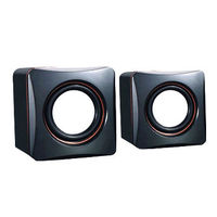 WINSTAR Speaker 2.0, RMS 1W*2, USB2.0, WS-SP-2019, black