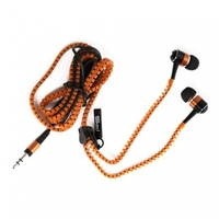 Earphones Freestyle Zip FH2111 w/Microphone Orange