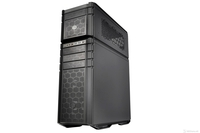 Cooler Master case, Full Tower, microATX, ATX, EATX, HAF Stacker 935, W/O PSU, Cooling: Air: Front: 92mm fanx1, Rear: 140mm fanx1, Liquid: Front: 240mmx1, I/O Panel: USB 3.0 x 2, USB 2.0 x 2, Audio In & Out, HAF-935-KWN1, Midnight black