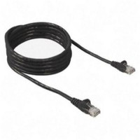Belkin LAN UTP Cat5e Patch cable 0.5m black A3L791b50CM-BLK