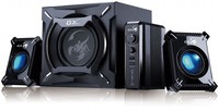 Genius Speaker, Gaming, 50W, RMS 29W, SW-G2.1 2000, Black