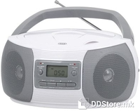 Portable Radio/CD/MP3 Player Trevi CMP 524 White
