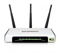 TP-Link TL-WR940N 300Mbps Advanced wireless N Router, Atheros, 2.4GHz, 802.11n/g/b, Built-in 4-port Switch, with 3 fixed antennas