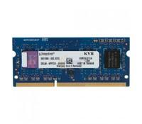 Kingston 4GB 1600MHz DDR3L 1.35V, Non-ECC CL9 SODIMM, Bulk Pack 50-unit increments, KVR16LS11/4BK
