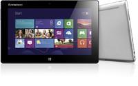 "Lenovo IdeaTab Miix 10 Win8 10.1"" (1280x800) Atom Z2760 dual 1,5GHz, Memory 64GB, Ram 2GB, Wi-Fi, Bluetooth, Webcams, silver"