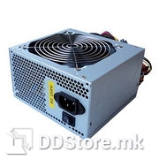 CCiVO PSU 500W labeled 230W rp, 20+4pin, 8cm Fan, 2x Power SATA (length 45cm), 3x MOLEX (lnght 55cm), bulk