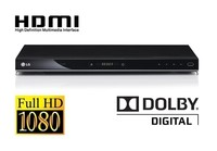 DVD PLAYER LG DVX 582 H, Slim Design, DivX, DVD±R/RW, CD-R/RW, SVCD, VCD, MP3, WMA, JPEG playback, Full HD 1080p Up-scaling, USB Direct Recording, HDMI out, USB plus