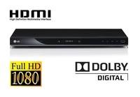 DVD PLAYER LG DVX 582 H, Slim Design, DivX, DVD±R/RW, CD-R/RW, SVCD, VCD, MP3, WMA, JPEG playback, Full HD 1080p Up-scaling, USB Direct Recording, HDMI out, USB plus