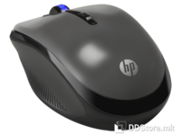 HP HP X3300 Grey Wireless Mouse, bežični RF (2,4 GHz), Wi-Fi, optički, 1200 dpi/cpi, Tipke 4 + scroll, Boja siva