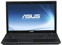 ASUS X54C-SX048D  - Intel Celeron B815 DualCore (1.6GHz, 2MB, 35W, 32nm) CPU, Intel HD Graphics (Sandy Bridge) VGA, 2048 MB DDR3-1333MHz RAM (2GB onboard, 1 slot free), 320 GB 5400 rpm HDD, Web Camera, Supermulti Double Layer ODD, Bluetooth 3.0, Batt