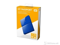 "Western Digital My Passport Blue 2TB, 2 TB, USB 2.0,USB 3.0, 8 MB, 2,5"", 5.400 rpm"