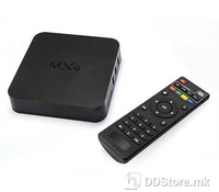 ST MXQ, Superior technology, Android SMART Computer Box, Black, CPU Amlogic S805 quad core Cortex A5 4 CPU up to 1.5GHZ, GPU Quad Core Mali-450, Memory 1GB DDR3, 8GB ROM, Android 4.4 Kitkat, WiFi, 4x USB 2.0, SD Card reader, A/V jack, RJ-45, HDMI 1.4