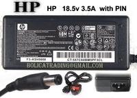 Notebook adapter 18.5V 3.5A w/power cable, 65W HP Original