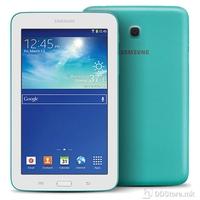 "Tablet Samsung Galaxy Tab 3 7"" (1024x600), dual core 1.2GHz, Memory 8GB, Ram 1GB, Wi-Fi, Bluetooth, GPS, Webcam, Android 4.2, Blue Green"