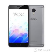 """Smartphone 5.5"""" FHD Meizu M3 Note Gray 64bit Octa Core 1.3GHz/2GB/16GB/Dual SIM/4G/5MP+13MP/A5.1"""