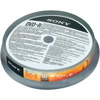SONY 10DMR47SP, 10x DVD-R 4.7GB Spindle