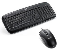 Genius SS C110 black combo (Keyboard Slimstar 110 + Mouse NetScroll 200 Optical), USB