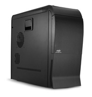 SP-ATX-PALU/B Pininfarina black Stylish Italian design Full Tower Case , durable & lightweight , aluminum, front USB and audio ports, 10 internal drive bays, ROHS/WEEE