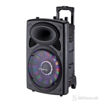 Speaker Box Manta Karaoke Ogre 40W Rechargeable w/Microphone, Remote, Disco LED, Battery