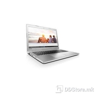 "Notebook Lenovo 510-15ISK i5-6200U 8GB/1TB/940MX 2GB/DVDRW/15.6"" FHD LED/backlitKB/WhiteSilver/Linux"