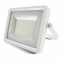 White Body SMD 3000K IP65 2400 lm LED Floodlight V-TAC SLIM 30W SKU : 5679