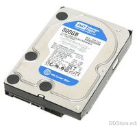 HDD 500GB WesternDigital 7200rpm 16MB Cache SATA-II Caviar Blue WD5000AAKS