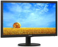PHILIPS LED 21.5'' 223V5LSB, Slim Design, 5ms, Smart Contrast 10.000 000:1,  Smart Control Lite, Black