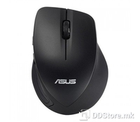 ASUS Wireless Mouse WT465, Color: Black, Wireless Technology: RF 2.4GHz, Dimensions: 106(L)*75.6(W)*39.5mm(H), Weight: 70 gr, Resolution: 1000dpi/1600dpi, Switchable 1000dpi/1600dpi resolutions for flexible and accurate input, P/N: 90XB0090-BMU040