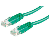 21.15.0553-50 ROLINE UTP Patch Cord Cat.5e, green, 3.0m