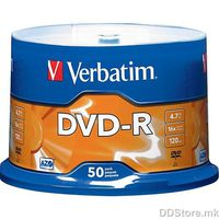 DVD+R 4.7GB 16x Verbatim 5pcs Slimcase