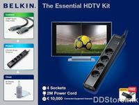 Belkin HDTV KIT N3,SURGE/HDMI CABLE/MINI CLEANE F5Z0228ab