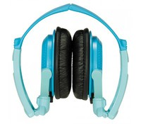 PANASONIC RP-DJS200E-A, Headphones Turquoise Blue