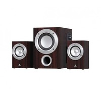 Power Box S1-EV 2.1 Channel speaker , Black, R.M.S:  9.5w(4.5w+2.5w*2), P.M.P.O: 170W, Colour box packing
