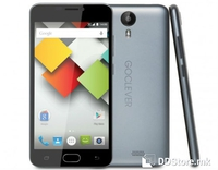 "Smartphone 5.0"" HD GOCLEVER Quantum 3 500 Grey 64bit Quad Core 1.3GHz/1GB/8GB/4G/2xSIM/2MP+8MP/A5.1"
