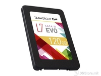 SSD Team Group L7 Evo, 120GB SATA3, Read up to 530MB/s , Write up to 360MB/s