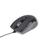 Mouse MUS-GU-01 Laser 2400DPI USB Black