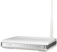 ®Asus Wireless Router WL-520gU 125M Broad Range EZ Wireless Router, 125*High Speed Mode, Built-in Printer Server