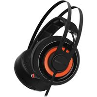 Headphones SteelSeries Siberia 650 Gaming USB Black
