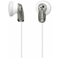 SONY MDRE9LPH.AE, In ear headphones, grey/white, Microphone and in-line remote, 13.5mm driver units, 1.2m cable length, 3.5mm jack, Frequency Response 18 - 22000 Hz, Impedance 16 Ohm, Sensitivity 104 Db