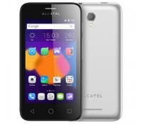 "Alcatel Pixi First 4024D Dual SIM, Silver with 3G, 4"", 512MB/4GB"