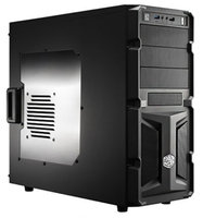 "CoolerMaster Case K350, 600W Real Power Supply, Transparent Side Panel Window, M/B Type: Micro-ATX, ATX, 5.25"" Drive Bays x 3, 3.5"" Drive Bays x 7, Expansion Slots x 7, Power Supply Type: Standard ATX, VE-K350-KWA600"