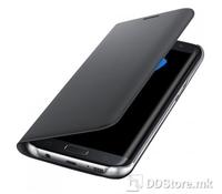 Samsung Galaxy S7 +, G935, Flip Wallet, Black, EF-WG935PBEGWW