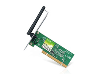 TL-WN751N     LAN Wireless PCI 150Mbps, w/1x2dBi Antenna, 1T1R, N-MAX