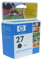 HP HEWLETT-PACKARD, Tinta, Black, 10 ml, 220 str., za DeskJet 3420, 3425, 3325, 3520, 3550, 3650, PSC 2410, C8727AE