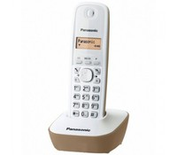 PANASONIC KX-TG1611FXJ, DECT cordless telephone, White/Beige color