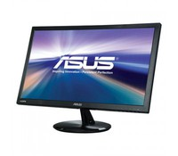 "ASUS 22"" Wide VP228H with Stereo Speakers: 1.5W x 2, True Resolution : 1920x1080 (FHD), Display Surface Non-glare, Brightness(Max) : 250 cd/m2, ASUS Smart Contrast Ratio (ASCR) : 100000000:1, Viewing Angle: 170°(H)/160°(V), Response Time: 1ms, Disp"