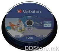 Verbatim Blu-ray BD-R,25Gb 10pack
