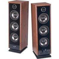 Genius SP-HF2020 V2, Wood, 60W,  4-Way, Professional D2Audio Digital Sound Processor, 3- Sound EQ, optical input (3.5mm & 2 RCAs), remote control